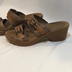 Dansko Wedge Sandals Size 41